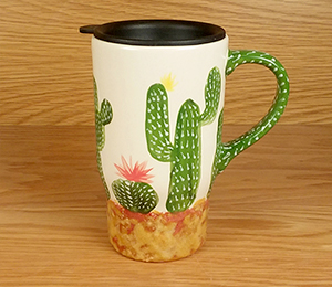 Daly City Cactus Travel Mug