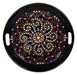 Daly City Mosaic Mandala Tray