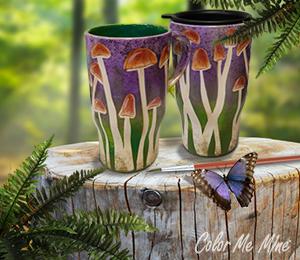 Daly City Mushroom Mugs