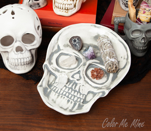Daly City Vintage Skull Plate