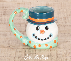 Daly City Snowman Mug