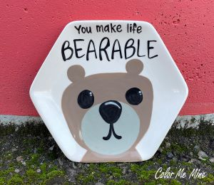 Daly City Bearable Plate