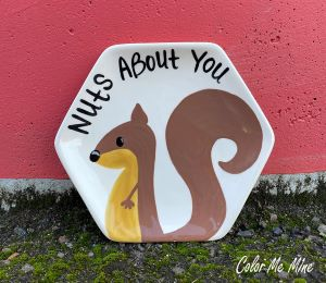 Daly City Squirrel Plate