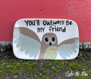 Daly City Owl Plate