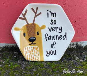Daly City Fawn Plate